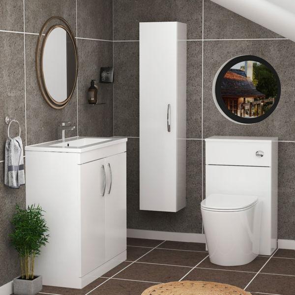 bathroom furniture floor standing / floor standing bathroom furniture