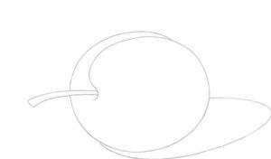 Plum shadow define drawing