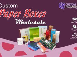 Custom Paper Boxes Wholesale