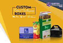 Custom Retail Packaging Boxes
