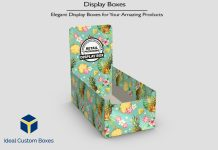 Elegant Display Boxes For Your Amazing Products