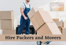Why to Hire Packers and Movers to Shift Goods